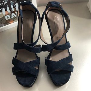 Navy blue BCBG Maxazria Shoes
